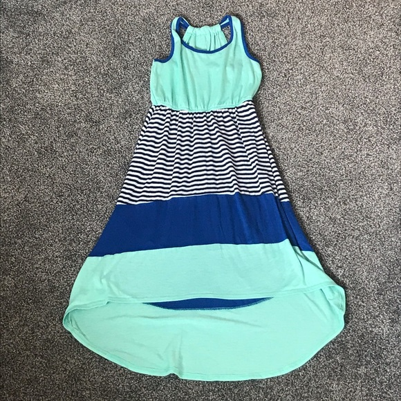 Girls Hi-lo Sun Dress 10-12